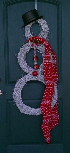 7 Christmas wreaths