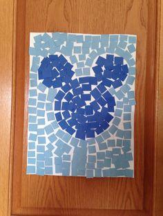 Ancient Rome Mosaic Tile Craft - Kindergarten Craft - History Craft - Kids Craft