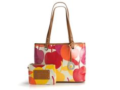 Nine West Cherry Print Tote....Totally Love!