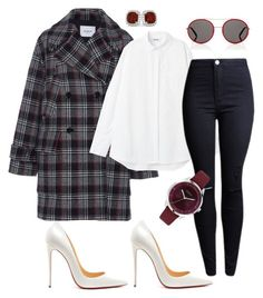 """""""Friday Look"""" by daisy-schilder ❤ liked on Polyvore featuring Christian Louboutin, Gucci, Furla, Allurez and friday"""