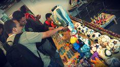 Comentarios, fotos, historias, anécdotas. Todo lo despertó la Feria Xpo Fútbol 2015 en Bogotá / #sports #soccer #fútbol #colección #soccerfan #Bogotá #Corferias #Colombia