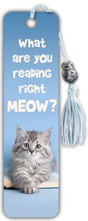 Reading right meow? Kittens Reading Bookmark - Trends International