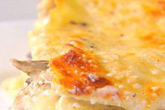 Portobello Mushroom Lasagna recipe from Ina Garten. SOOO good! I made this tonight and I will DEFINITELY make it again!