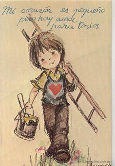 POSTAL NIÑO / DIBUJO VERNET (Postales - Dibujos y Caricaturas)