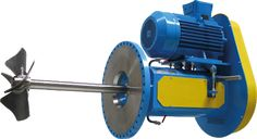 Industrial Equipment Services: Side Entry Mixer For Storage Tanks