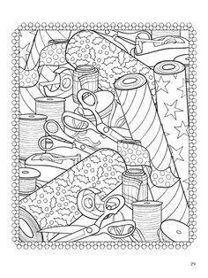 Creative Haven Tea Time Coloring Book Dover Publications Coffee