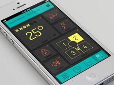Smart Home Dashboard Mobile UI Inspiration