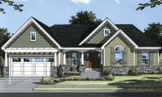 Bungalow House Plan with 1509 Square Feet and 3 Bedrooms from Dream Home Source   House Plan Code DHSW49798