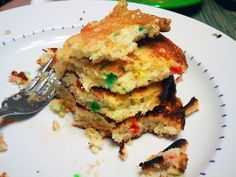 Funfetti Pancakes- Try warming up the funfetti frosting and pouring it on top for a really yummy breakfast treat.