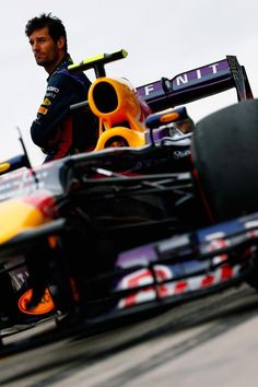 Mark Webber of Infiniti Red Bull Racing @ the 2013 F1 US Grand Prix, at the Circuit of the Americas. Austin Texas
