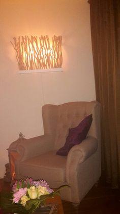 Lamp van takken