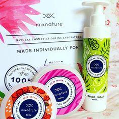 MixNature - Laboratorio en línea de cosméticos naturales