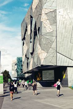 Federation Square, Melbourne, by LAB Architecture