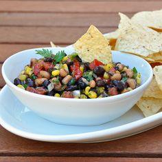 Cowboy Caviar. I added jalapeño