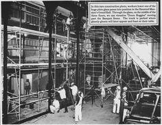 thettc:  Haunted Mansion construction.