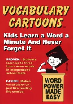 Vocabulary Cartoons: Word Power Made Easy « Library User Group