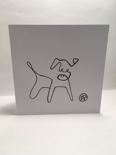 greeting simple cards drawing easy drawings