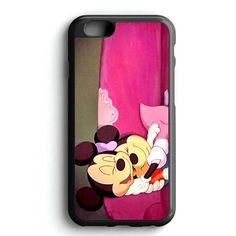 Mickey And Minnie Mouse Hug iPhone 7 Case