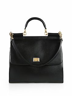 Dolce & Gabbana Miss Sicily Large Satchel  Classy, Timeless, Perfect.