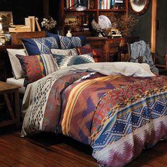 25 Western Bedroom Design Ideas For Girls - Dlingoo Zara Home, Home Bedroom, Bedroom Decor, Bedroom Ideas, Master Suite, Pottery Barn, Red Sheets, Beige Bed Linen, Ikea