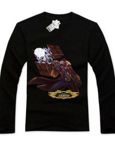 Best Jayce mens t shirt League of Legends long sleeve tee for spring-