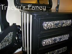 """French Provincial Bedroom Set """"Gone Hollywood"""" - MADE TO ORDER. $1,710.00, via Etsy."""