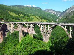 Djurdjevica Tara Bridge, Montenegro