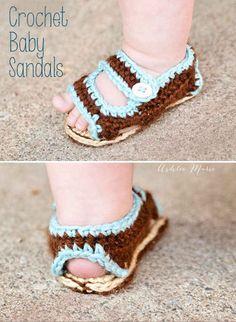 Birkenstock-Style Baby Sandals