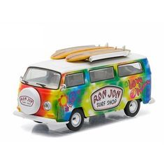 Greenlight M2 Machines Auto World Hot Wheels more Whats New In Diecast : Greenlight Promo Limited 1 of only 2500 Pcs Hippie...
