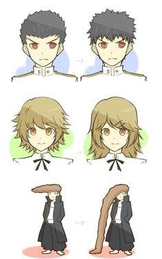Mondo's hair makes me laugh XD