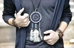 #dreamcatcher #boy #necklace #bronxstyle #swag #funk #funky #fucking #perfect #cute #outfit #jewellery #male #teen #yolo #one #love #nyc #ny #style