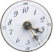 Decimal clock from the French Revolution