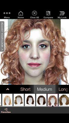 Mary Kay virtual makeover. Lol.