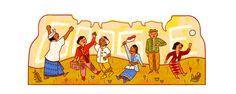 "Google Doodle ""Indonesia"" Today To Celebrate Hari Sumpah Pemuda 2016"