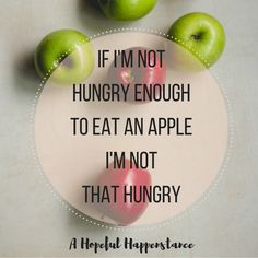 If I'm not hungry enough to eat an apple then I'm probably not hungry enough. Clean eating challenge. New years. Getting healthy for my family. Easy food swaps. Coconut Sugar. Sugar alternatives. No processed foods.
