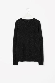 Speckled wool jumper