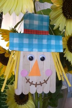 16 Fall Kid Crafts - A Little Craft In Your Day.....@Lisa May  I saw this and thought it was really cute for a halloween craft.