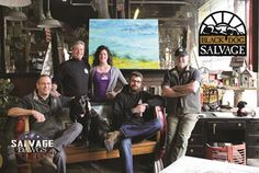 An article by Parade Magazine takes readers behind the scenes of the Salvage Dawgs television show and Black Dog Salvage. Salvage Dogs, Black Dog Salvage, Diy Network, Blue Ridge Mountains, Dog Show, Best Tv Shows, Architectural Salvage, Antique Shops, Behind The Scenes