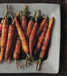 Chocolate for Dinner | Roasted Baby Carrots
