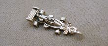 Vintage Sterling Silver Indy Race Car Charm just listed on Ruby Lane.