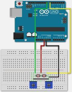 2 LDR's aan een Digitale Arduino pin