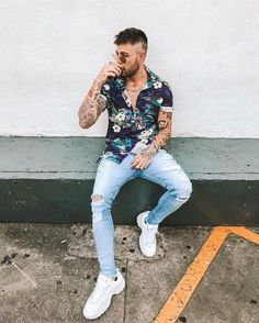 Moda casual hombre outfits clothes for 2019 Summer Outfits Men, Casual Outfits, Stylish Men, Men Casual, Urban Fashion, Mens Fashion, Men Summer Fashion, Mode Cool, Moda Blog
