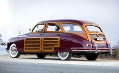 1948 Packard Standard Eight woodie