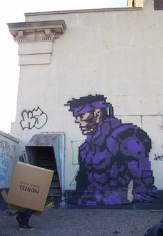 (Metal Gear) Solid Snake by gameboyone░, via Flickr