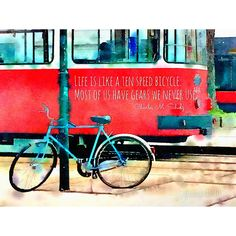 #waterlogue Photo Quotes, Me Quotes, Life Is Like, My Photos, Bicycle, Quote Pictures, Bicycle Kick, Bike, Ego Quotes