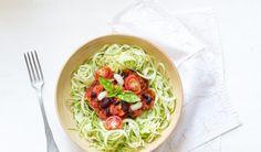 Les spaghettis de courgettes selon Mély