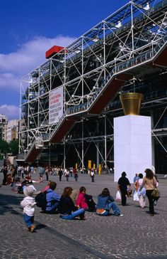 The Pompidou Centre has amazed and delighted visitors ever since it opened in 1977, not just for its outstanding collection of modern art – ...