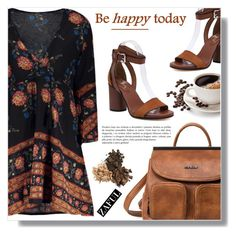 """""""Be happy today"""" by fashion-pol ❤ liked on Polyvore"""