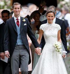Pippa Middleton's wedding has kickstarted some major new wedding trends Pippa Middleton Honeymoon, Pippa Middleton Wedding Dress, Pippas Wedding, Wedding Trends, Wedding Ideas, Wedding Bells, Wedding Bouquets, Dream Wedding, Celebrity Wedding Dresses