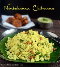 Karnataka style chitranna recipe with chutney and Bonda - Yummy breakfast recipe !!